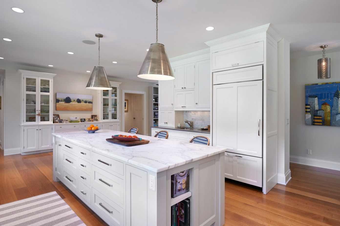 Rob Sanders Architects Llc Wilton Ct Sun Filled Rowayton Kitchen